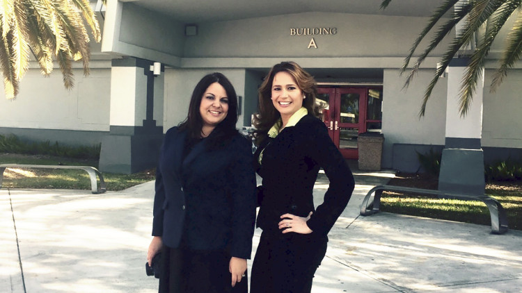 Professors Jessyca Pérez and Yanely Cordero