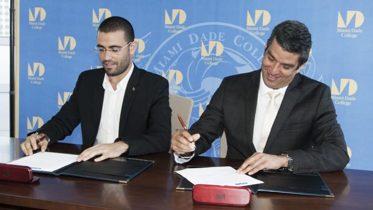 Oren Simanian and Leandro Finol