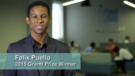Felix Puello, 2015 Grand Prize Winner