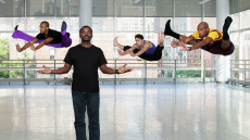 Robert Battle and dancers