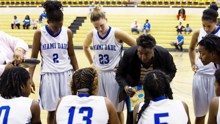 Susan Summons, Miami Dade College Women's Basketball Coach