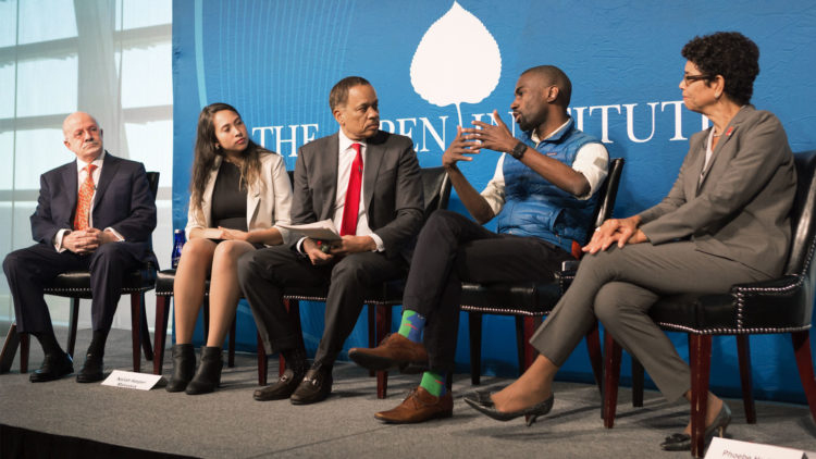 """Miami Dade College President Eduardo Padron on """"Race and the University"""" panel at The Aspen Institute Symposium on the State of Race in America"""