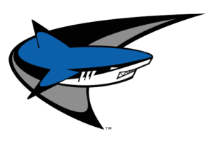 Miami Dade College Sharks Athletics Logo