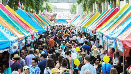 Miami Dade College, Miami Book Fair, Street Fair
