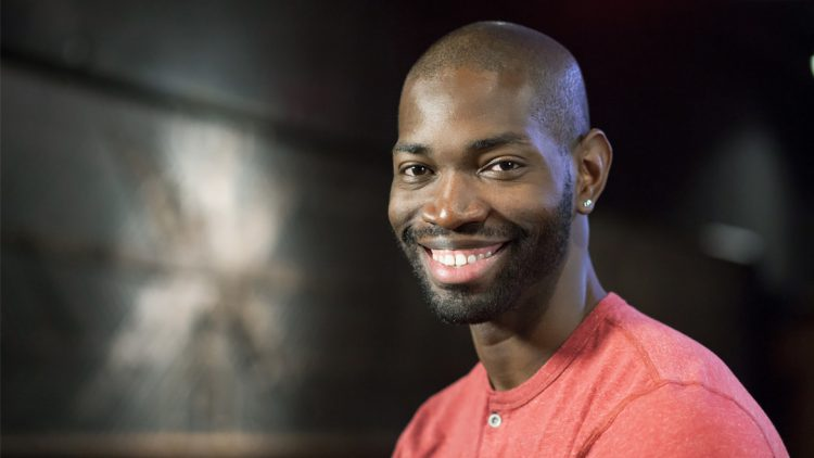 "MDC New World School of the Arts alumnus and 2013 MacArthur ""genius"" grant recipient Tarell Alvin McCraney"