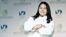 MDC's Miami Culinary Institute Student Joselyn Escobar