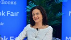 Sheryl Sandberg on stage at Miami Dade College