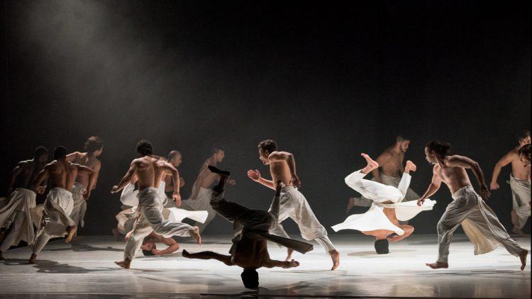 Dancers performing onstage