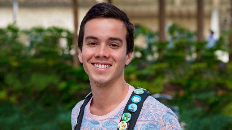 Puerto Rican student Gabriel Negron Feliciano