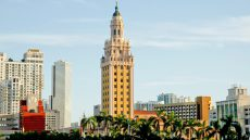 National Historic Landmark Freedom Tower in Downtown Miami
