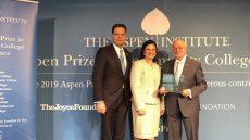President Padron Receives Aspen Award