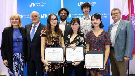 2019 Frances Wolfson Art Scholarship recipients