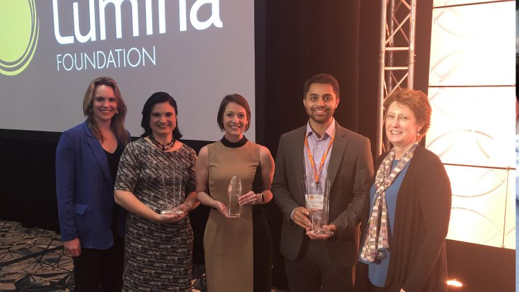Lumina Foundation Winners
