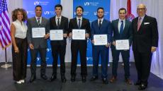 2019 Timothy E. Johnson Jr. Scholarship recipients