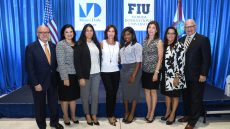 Braman Family Foundation with MDC and FIU scholarship recipients