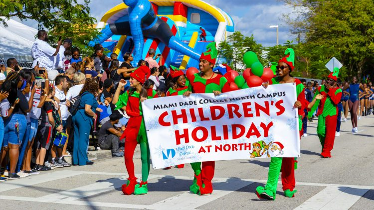 Children's Holiday parade