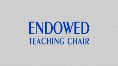 Endowed Teaching Chair Graphic