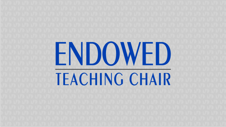Endowed Teaching Chair Graphic