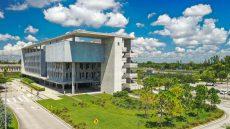Kendall Campus Building R Exterior Shot
