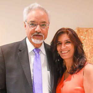 Portrait of Rao and Anita Uppaluri. Photograph courtesy of Anita Uppaluri.