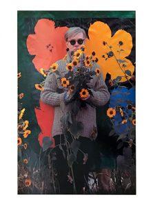 William John Kennedy, Homage to Warhol's Flowers, 1964