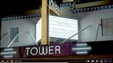 Tower Theater marquee