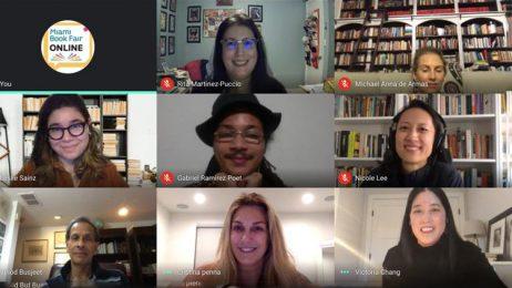 Screen Shot of Online Workshop Participants
